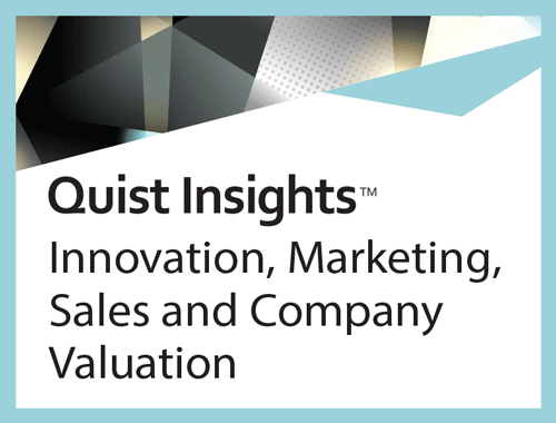 Innovation marketing sales and company valuation quist for Advertising sales companies