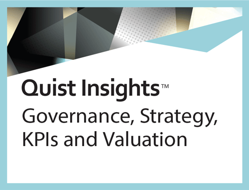 Governance, Strategy, KPIs and Valuation