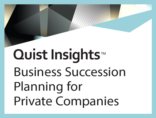 Business Succession Planning for Private Companies